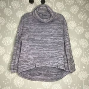 Anthropologie Saturday Sunday Top Med Purple Gray